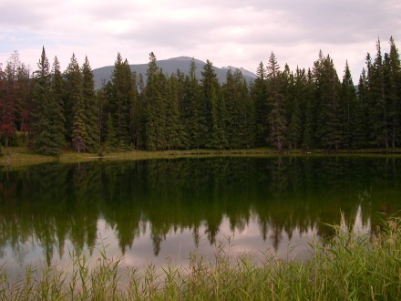 Another pond in the Rocky Mountains